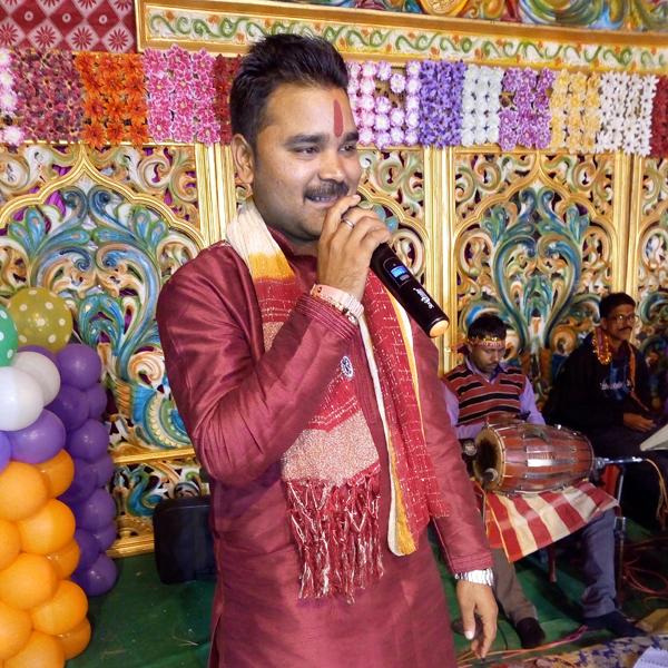 Singer Yashvant Singh (Shanu)